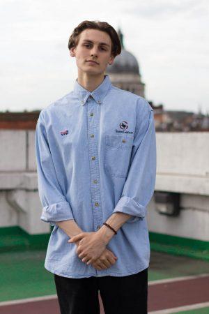 Light blue Lee shirt