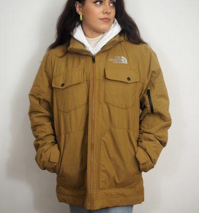 North Face Camel Coat