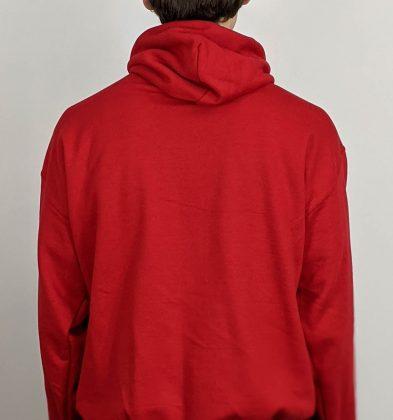 Cherry Red Gildan Hoodie