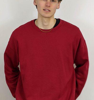 Garnet Gildan Sweatshirt