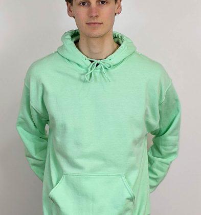 Mint Green Gildan Hoodie