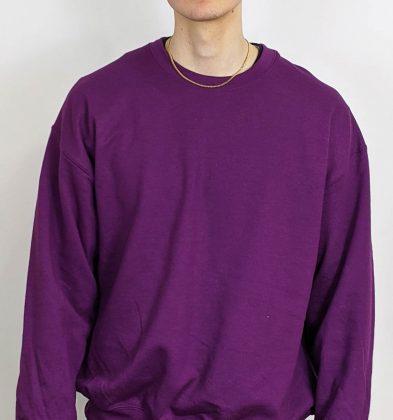 Plum Gildan Sweatshirt