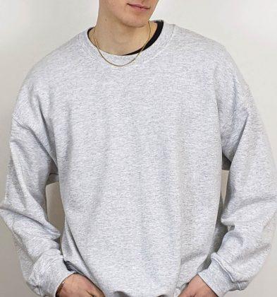 Ash Grey Gildan Sweatshirt